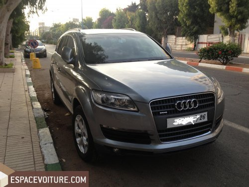 audi q7 occasion casablanca diesel prix 325 000 dhs r f caa16296. Black Bedroom Furniture Sets. Home Design Ideas