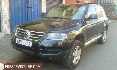 volkswagen touareg occasion casablanca diesel prix 165 000 dhs r f caa20997. Black Bedroom Furniture Sets. Home Design Ideas