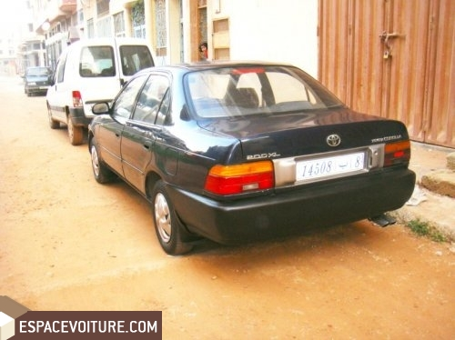 voiture d 39 occasion au maroc a vendre une toyota corolla. Black Bedroom Furniture Sets. Home Design Ideas