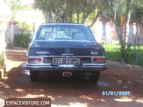 mercedes-benz classe s 1966 diesel voiture d'occasion casablanca