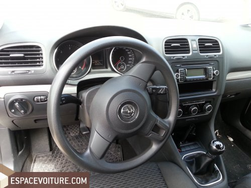 volkswagen golf 2009 diesel voiture d 39 occasion casablanca prix 95 000 dhs. Black Bedroom Furniture Sets. Home Design Ideas
