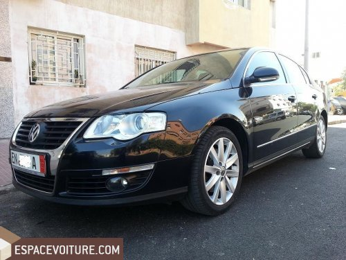 volkswagen passat 2008 diesel voiture d 39 occasion casablanca prix 210 000 dhs. Black Bedroom Furniture Sets. Home Design Ideas
