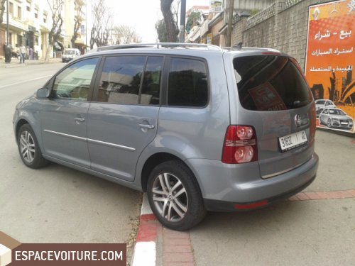 volkswagen touran 2007 diesel voiture d 39 occasion tanger prix 164 000 dhs. Black Bedroom Furniture Sets. Home Design Ideas