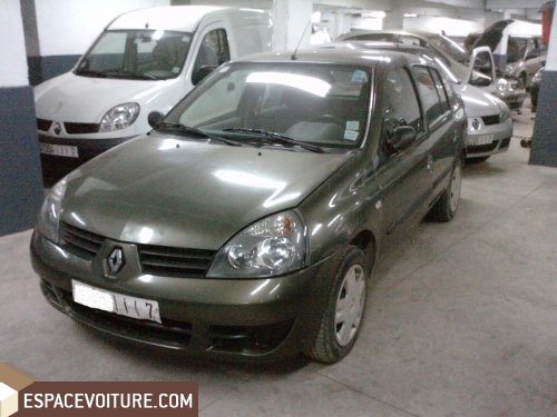 voiture d 39 occasion au maroc renault clio voiture en vente casablanca. Black Bedroom Furniture Sets. Home Design Ideas