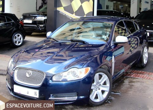jaguar xf 2009 essence voiture d 39 occasion casablanca prix 149 000 dhs. Black Bedroom Furniture Sets. Home Design Ideas