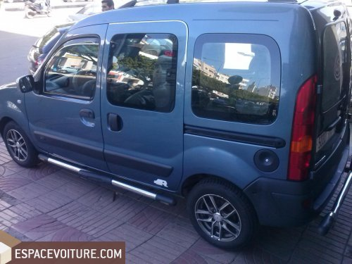 renault kangoo occasion casablanca essence couleur bleu r f caa20235. Black Bedroom Furniture Sets. Home Design Ideas