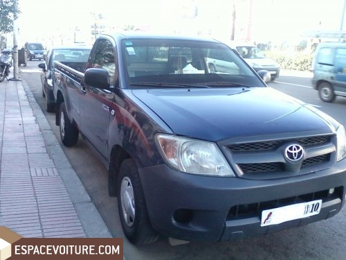 toyota hilux occasion casablanca diesel couleur bleu marine r f caa5634. Black Bedroom Furniture Sets. Home Design Ideas