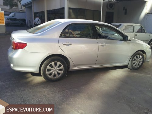 toyota corolla 2008 diesel voiture d 39 occasion fes prix 112 000 dhs. Black Bedroom Furniture Sets. Home Design Ideas