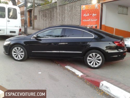 volkswagen passat cc 2009 diesel voiture d 39 occasion tanger prix 219 000 dhs. Black Bedroom Furniture Sets. Home Design Ideas