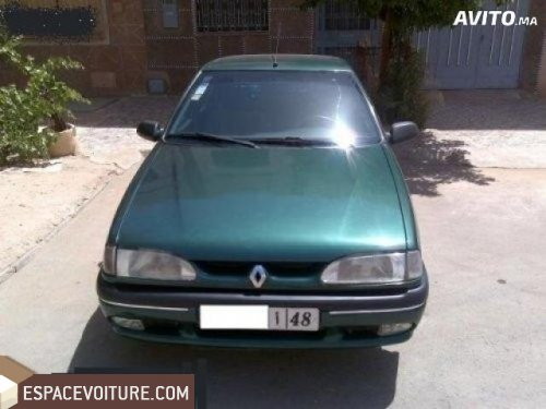 renault r19 1994 essence voiture d 39 occasion oujda couleur vert. Black Bedroom Furniture Sets. Home Design Ideas