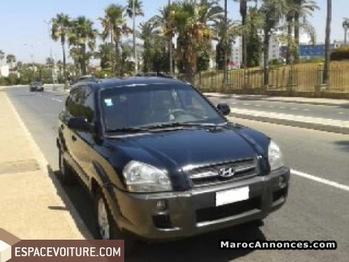 hyundai tucson 2006 diesel voiture d 39 occasion kenitra prix 130 000 dhs. Black Bedroom Furniture Sets. Home Design Ideas