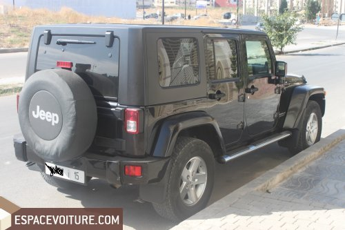 jeep wrangler 2008 diesel voiture d 39 occasion fes prix 288 000 dhs. Black Bedroom Furniture Sets. Home Design Ideas