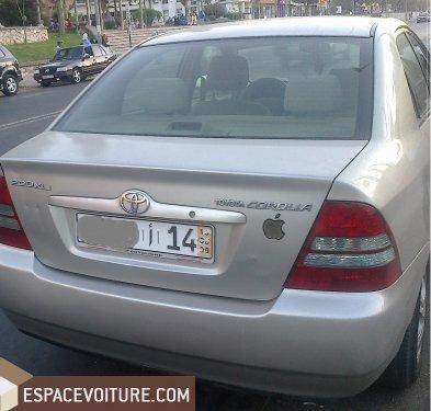 Toyota corolla 2004 diesel voiture d 39 occasion casablanca prix 85 000 dhs - Mets une alarme ...