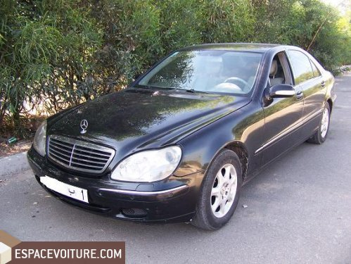 mercedes benz classe s 1999 essence voiture d 39 occasion essaouira prix 80 000 dhs. Black Bedroom Furniture Sets. Home Design Ideas