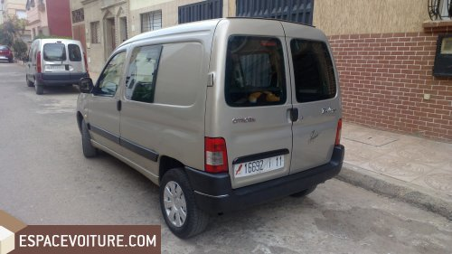 citroen berlingo occasion casablanca diesel prix 66 000 dhs r f caa16038. Black Bedroom Furniture Sets. Home Design Ideas