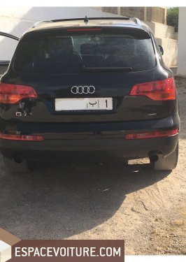 audi q7 2006 diesel voiture d 39 occasion fes prix 160 000 dhs. Black Bedroom Furniture Sets. Home Design Ideas