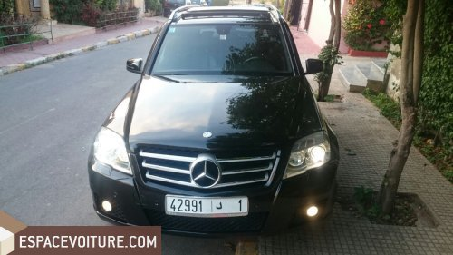 mercedes benz classe glk occasion rabat diesel prix 260 000 dhs r f rat8595. Black Bedroom Furniture Sets. Home Design Ideas