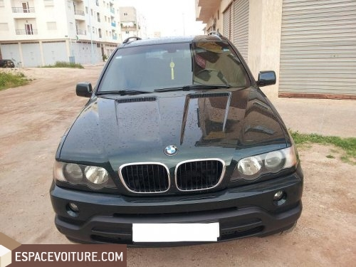 bmw x5 2003 diesel voiture d 39 occasion agadir prix 200. Black Bedroom Furniture Sets. Home Design Ideas
