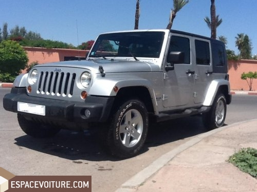 jeep wrangler 2011 diesel voiture d 39 occasion marrakech prix 385 000 dhs. Black Bedroom Furniture Sets. Home Design Ideas