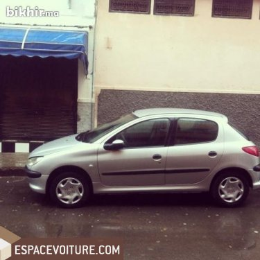 peugeot 206 2007 essence voiture d 39 occasion casablanca prix 65 000 dhs. Black Bedroom Furniture Sets. Home Design Ideas