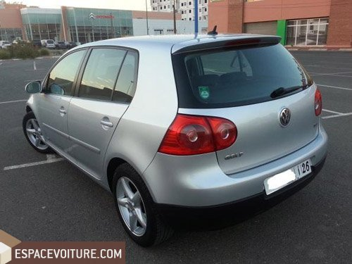volkswagen golf 2006 diesel voiture d 39 occasion marrakech. Black Bedroom Furniture Sets. Home Design Ideas