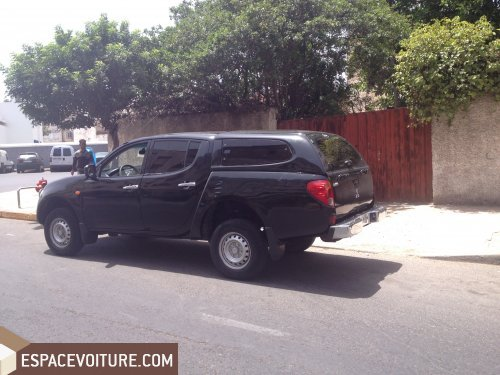 mitsubishi l200 2008 diesel voiture d 39 occasion casablanca prix 110 000 dhs. Black Bedroom Furniture Sets. Home Design Ideas