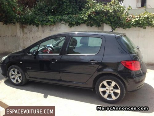 peugeot 307 2005 diesel voiture d 39 occasion casablanca prix 80 000 dhs. Black Bedroom Furniture Sets. Home Design Ideas