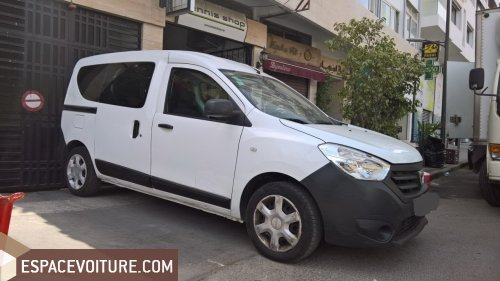 dacia dokker 2014 diesel voiture d 39 occasion casablanca prix 82 000 dhs. Black Bedroom Furniture Sets. Home Design Ideas