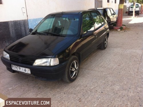 peugeot 106 1995 essence voiture d 39 occasion agadir prix 25 000 dhs. Black Bedroom Furniture Sets. Home Design Ideas