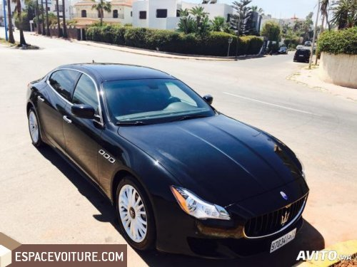 maserati quattroporte 2014 diesel voiture d 39 occasion casablanca prix 920 000 dhs. Black Bedroom Furniture Sets. Home Design Ideas