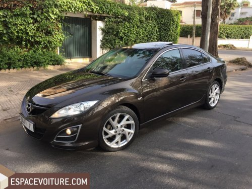 mazda 6 2012 essence voiture d 39 occasion casablanca prix 128 000 dhs. Black Bedroom Furniture Sets. Home Design Ideas