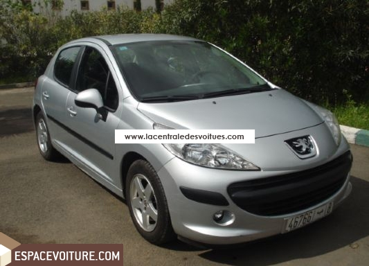 peugeot 207 occasion casablanca diesel prix 155 000 dhs r f caa3213. Black Bedroom Furniture Sets. Home Design Ideas