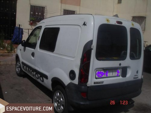 renault kangoo diesel voiture d 39 occasion casablanca prix 63 000 dhs. Black Bedroom Furniture Sets. Home Design Ideas