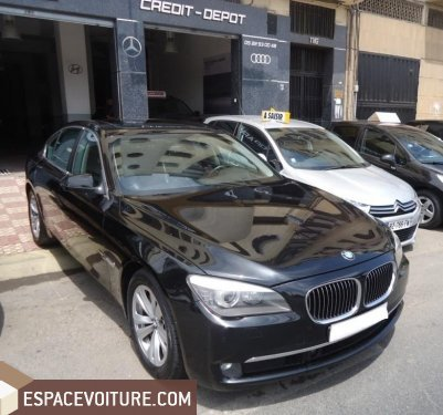 bmw serie 7 2010 diesel voiture d 39 occasion casablanca prix 360 000 dhs. Black Bedroom Furniture Sets. Home Design Ideas