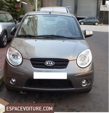 kia picanto 2008 essence voiture d 39 occasion casablanca prix 53 000 dhs. Black Bedroom Furniture Sets. Home Design Ideas