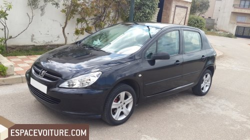 peugeot 307 2002 diesel voiture d 39 occasion rabat prix 68 000 dhs. Black Bedroom Furniture Sets. Home Design Ideas