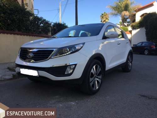 kia sportage 2013 diesel voiture d 39 occasion casablanca prix 220 000 dhs. Black Bedroom Furniture Sets. Home Design Ideas