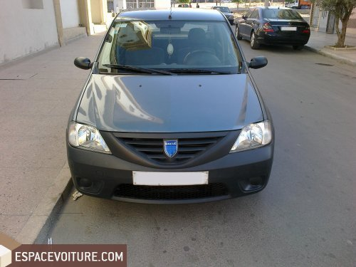 dacia logan 2008 essence voiture d 39 occasion oujda prix. Black Bedroom Furniture Sets. Home Design Ideas