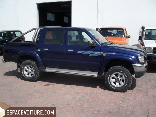 toyota hilux occasion casablanca diesel prix 160 000 dhs r f caa10407. Black Bedroom Furniture Sets. Home Design Ideas