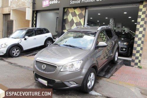 ssangyong korando 2011 diesel voiture d 39 occasion casablanca prix 133 000 dhs. Black Bedroom Furniture Sets. Home Design Ideas