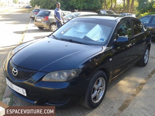 mazda 3 2004 essence voiture d 39 occasion rabat prix 60 000 dhs. Black Bedroom Furniture Sets. Home Design Ideas