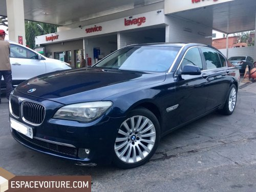 bmw serie 7 2009 essence voiture d 39 occasion casablanca prix 215 000 dhs. Black Bedroom Furniture Sets. Home Design Ideas