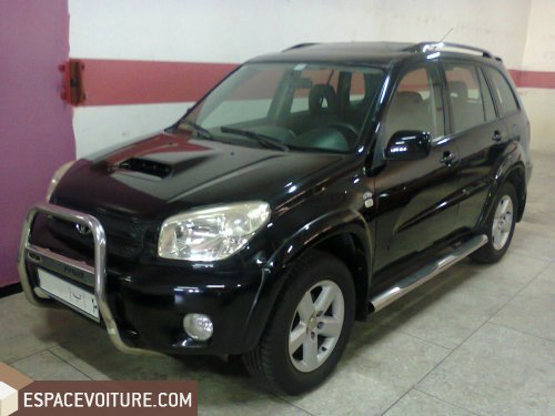 toyota rav 4 occasion tanger diesel prix 155 000 dhs r f tar1858. Black Bedroom Furniture Sets. Home Design Ideas