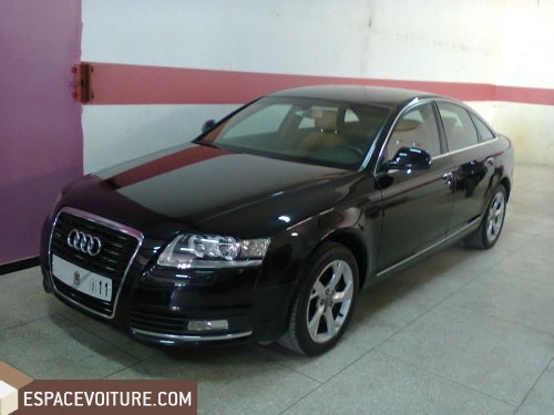 audi a6 2010 diesel voiture d 39 occasion tanger prix 350 000 dhs. Black Bedroom Furniture Sets. Home Design Ideas