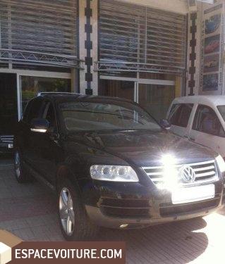 volkswagen touareg occasion fes diesel couleur noir r f fes1060. Black Bedroom Furniture Sets. Home Design Ideas