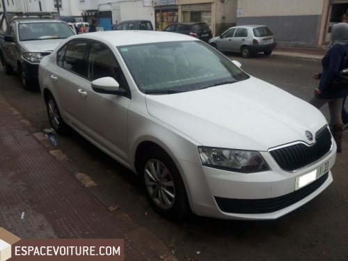 skoda octavia occasion agadir diesel couleur blanc r f agr1619. Black Bedroom Furniture Sets. Home Design Ideas