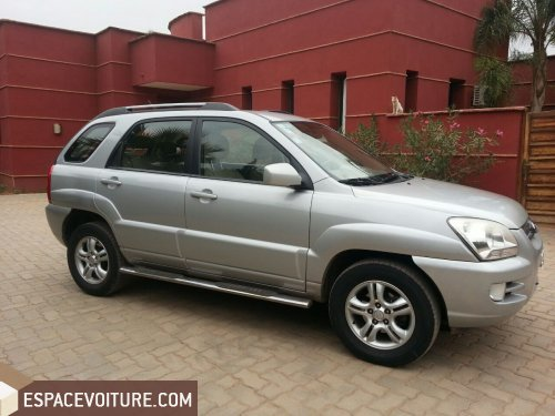kia sportage 2008 diesel voiture d 39 occasion marrakech prix 99 000 dhs. Black Bedroom Furniture Sets. Home Design Ideas