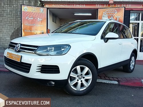 volkswagen touareg 2012 diesel voiture d 39 occasion tanger. Black Bedroom Furniture Sets. Home Design Ideas