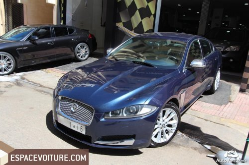 jaguar xf occasion casablanca diesel prix 275 000 dhs r f caa24149. Black Bedroom Furniture Sets. Home Design Ideas