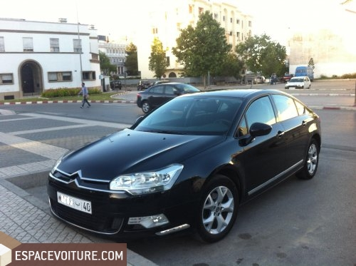 citroen c5 2010 diesel voiture d 39 occasion tanger prix 195 000 dhs. Black Bedroom Furniture Sets. Home Design Ideas